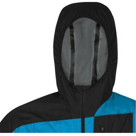 GORE WEAR R7 Windstopper Lekka kurtka z kapturem Mężczyźni, dynamic cyan/black
